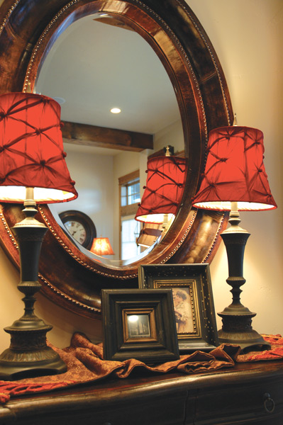 red-lamps