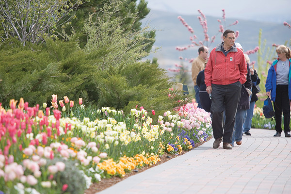 The Tulip Festival at Thanksgiving Point provides people an outside experience to learn to appreciate the earth.