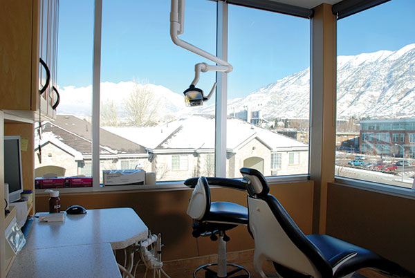The latest technology and finest views make going to the dentist more enjoyable for Provo Dental Care patients.