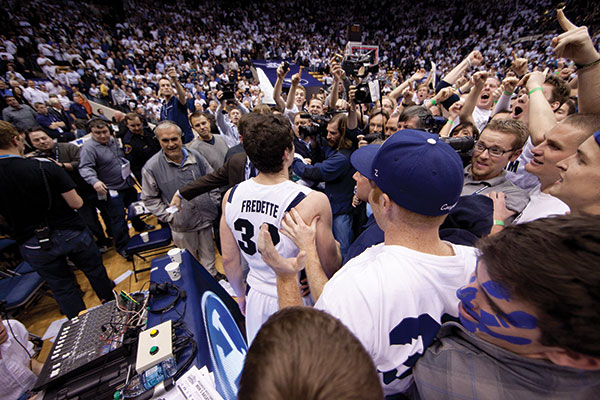 "We Heart Jimmer    ""ESPN is like Jimmer TV, that's all you see. Can you imagine if this guy played at UConn? Or for the UConn women's team? He'd be on even more."" — ESPN The Magazine, Chad Millman"