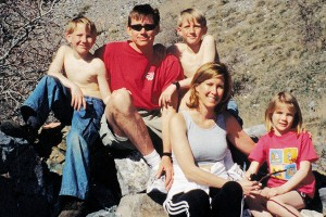 Californians at heart, the Tanners have now fallen in love with Utah. With their twin sons, Carson and Riley, and their daughter, Bailey, they hike through the mountains several times per week.