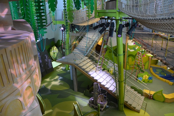 The Rainforest room at Thanksgiving Point's Museum of Natural Curiosity will open in the spring.