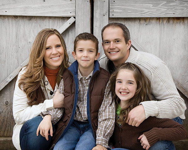 Dr. Shaun Briggs was excited to move back to Utah Valley and raise his children in the same area where he and his wife grew up.