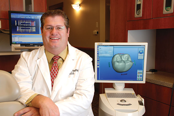 Dr. Hadfield makes sure he and his staff are up-to-date on the latest technological advancements in dentistry.