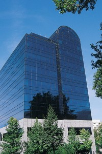 Nu Skin and Utah County have some similarities:  a strong work ethic and a drive for entrepreneurship. The 1992 building offers perhaps the best view of Utah County, especially from the lavish 10th floor offices for top company executives.