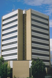 Spencer W. Kimball Tower Location:  BYU campus Year completed: 1981 Height: 161 feet Number of floors:  12 Square feet:  121,000 Tidbit:  The tower contains scores of faculty and staff offices, 19 classrooms and a 300-seat auditorium.  Distinction:  Utah County's tallest building