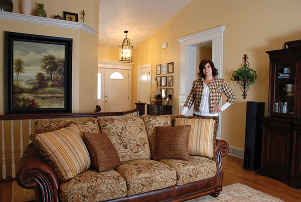 Susan Thompson caters to her clients' taste as she helps them create stylish and comfortable homes.
