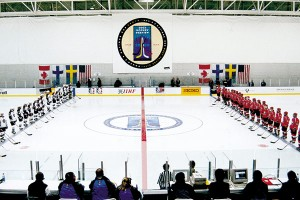 The Four Nations Tournament at The Peaks Ice Arena in Provo gave Olympic officials a glimpse of what they still need to iron out to be ready for 2002.