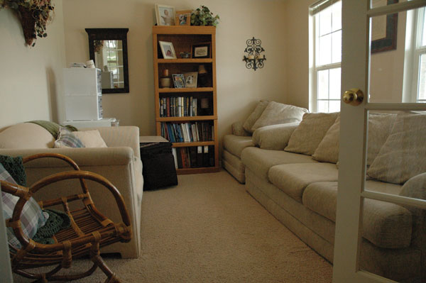 The Original Living Room Of This American Fork Home Was Crowded Plain And Had No