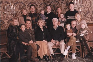Karl and Gerri Engemann, along with their five children, one son-in-law (Larry King), two daughters-in-law and six grandchildren.