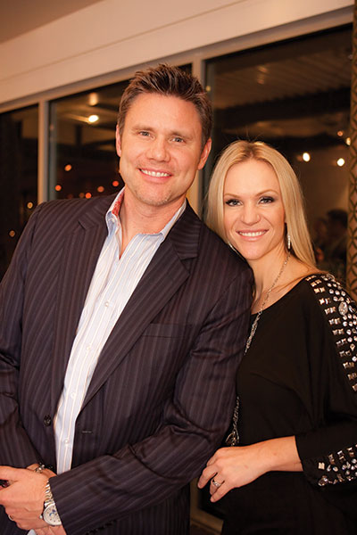 Dr. Scott Frogley (shown with his wife, Jenny) is chairman of the Utah  Chiropractic Physicians Association.