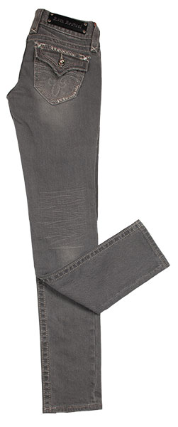 7. Rock Revival Grey Skinny Jeans Gray is the color du jour these days, and Rock Revival jeans show us how it's done. Available at Apricot Lane.