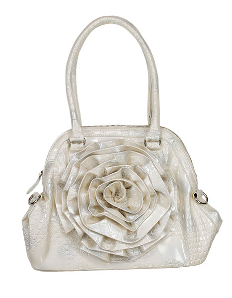 Handbag This cute handbag is just one of Cherry Lane's extensive collection of trendy bags of all shapes, sizes and colors.