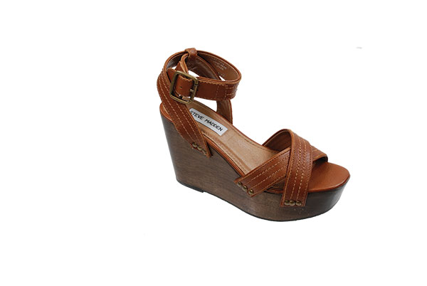Egoismo Wedge Sandal These Steve Madden wedge sandals  will give you height and make your legs look long and lean. Pair them with jeans or a dress for a fresh spring look!