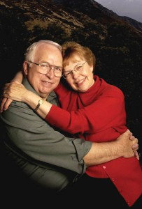 The Lundbergs have written several books together about marriage and family relationships