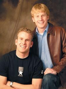 Trey Warner (left) and Danny Warner