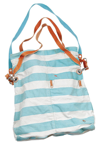 6. Nixon tote From the library to the beach, this bright canvas tote combines practicality with fun-in-the-sun fashion.