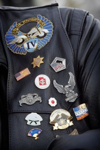 Rev. Dean Jackson's pin collection showcases his past experiences — including living in Japan, leading Rotary groups and working with the Provo City Police Department.