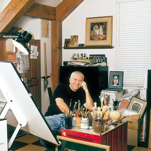 james-in-studio