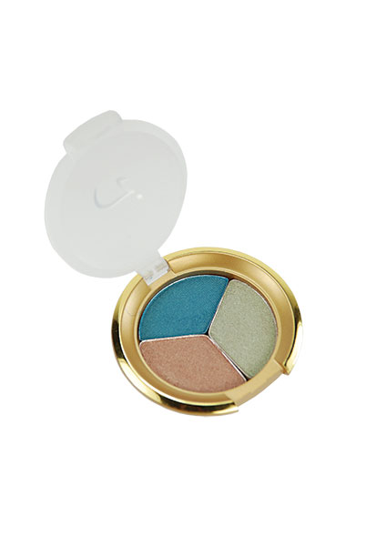 JANE IREDALE EYESHADOW  Shade, contour and highlight your eyes with this shimmery eyeshadow trio from Jane Iredale.  Available at Suggestions Salon in Orem.