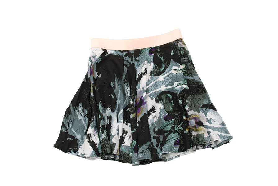 "3. ""Jack"" skirt by BB Dakota Pair this flirty skirt with neutral colors or jewel tones for a go-to girly look. Available at Soel Boutique."