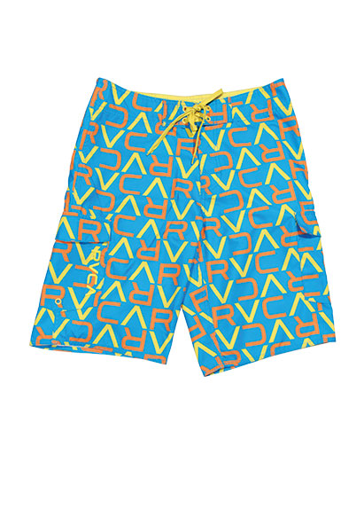 These rvca boardshorts are great for swimming, boating or lounging poolside.