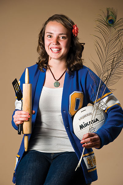 """Mckell is involved in athletics, student government and other extracurricular activities. She has a 4.0 GPA while taking challenging courses. She is an example of what we want students at Orem High to be."" — Mike Larson, assistant principal"