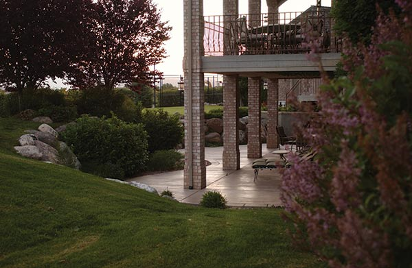 Living on the outside utahvalley360 Walkout basement landscaping pictures