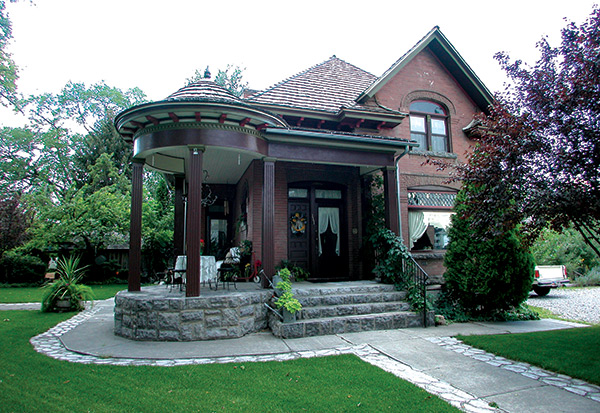 front-house