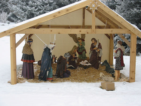 Outdoor Nativity Stable Driverlayer Search Engine