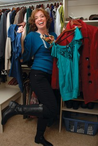 Kim Flynn initially thought an attempt to improve her appearance might be a frivolous pursuit. But replacing her closet full of Target T-shirts with a fashionable, figure-flattering wardrobe has played a role in making this Cedar Hills mom feel beautiful for the first time in 10 years.