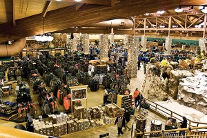 The Lehi Cabela's has had outdoors fanatics drooling ever since it opened its doors in 2005.