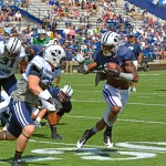 BYU football scrimmage — Saturday, August 10, 2013 — LaVell Edwards Stadium