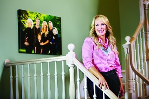 """Julie de Azevedo Hanks is known for singing her heart out on CDs and in firesides — and now she is listening her heart out to women and families who visit her three-location clinic, Wasatch Family Therapy. This women's-self-care evangelist is releasing her first book — """"The Burnout Cure"""" — this summer, with advice for how to say no and what it means to do your emotional family history. Julie appears regularly on Studio 5 and has shared mental and emotional health advice with The Wall Street Journal and Discovery Health.     """"In my extended family, we've seen it all — divorce, teen pregnancy, suicide, homosexuality, depression,"""" she says. """"Life has a way of teaching us to get real.""""      Julie's """"real life"""" includes raising four children while raising awareness of real emotional health issues in the LDS culture. (Spoiler alert! It's not happy valley for everyone.) (Photo by Kenneth Linge)"""