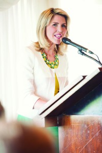 Paige Holland has rallied women in Utah Valley through her annual Ladies Luncheon at Riverside Country Club. Attendees are informed on UVU's initiatives and successes in educating more female students.