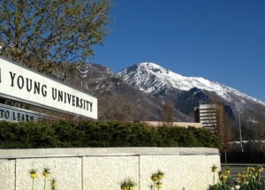 BYU was named the No. 1 Stone-Cold Sober university. (Photo by Rebecca Lane)