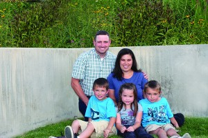Everybody has a story — including Cindy Butterfield who was raised on her great-great-grandfather's farm. She and her husband, Chad, are now bringing up her own three children on a patch in Lehi — Layne, Halleigh and Kaycee.
