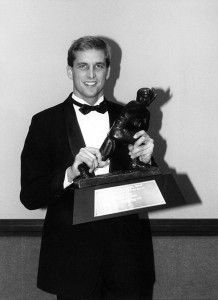 "When Ty received the award in 1990, he was told by 1977 Heisman winner Earl Campbell that the Heisman would do more for him than he could do for it.     ""I knew it was true, but I didn't know how true,"" Ty says. ""It becomes part of your name. It opens doors to speak and do endorsements. The older I get, the more I appreciate it. And I love being part of that group of Heisman winners. These are great men who do big things outside of football.""  (Photo by Mark Philbrick/BYU Photo)"