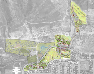 The plans for Slate Canyon Park will be stretched out over four phases. (Photo courtesy Provo City)