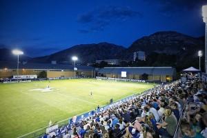 The BYU women's soccer team has its season opener Friday night. (Photo courtesy of BYU Photo)