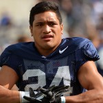 BYU running back Brown snowplows through defenders