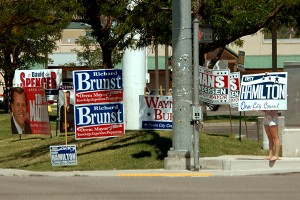 The 2013 primary elections are Aug. 13 from 7 a.m. to 8 p.m. (Photo by Matt Bennett)