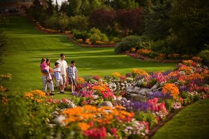 The Thanksgiving Point Gardens provide an educational outdoor experience for the family. (Photo courtesy of Utah Valley Convention & Visitors Bureau)