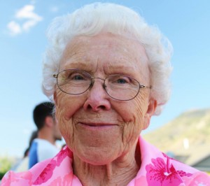 Ora Mae Hyatt will celebrate her 91st birthday on October 22. With 69 years of marriage, 10 children, 54 grandchildren and 105 great-grandchildren under her belt, Hyatt is wise beyond our years. (Photo courtesy of Bethany Hyatt)