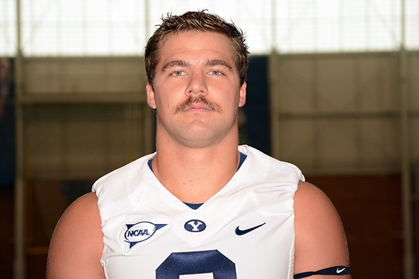 Spencer Hadley, BYU linebacker
