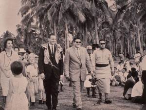 Thomas S. Monson visits the Tongan Mission in 1965.