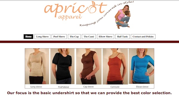 Apricot Apparel is a modest clothing company in Utah. (Photo courtesy of Apricot Apparel)