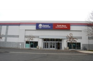 Deseret Industries (Photo by Rebecca Lane)