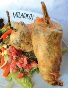 "Milagros in Orem commonly wins ""readers' choice"" contests by serving up creative entrees such as chile relleno. (Photo by Jennifer Riggs)"