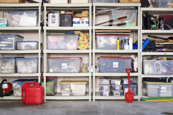 While plastic storage units can help you become organized, they won't solve all organizational problems. (Stock Photo)